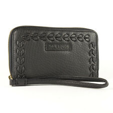 Billabong WOMEN'S LUNA EXIT Bi-Fold PU portafoglio a zip-aw15: OFF Nero