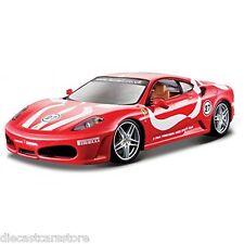 Bburago Ferrari F430 Fiorano Rojo 1/24 de Metal Cars Nuevo en Caja 18-26009RD