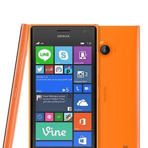 "Nokia Lumia 735 Original Unlocked 4G Wifi NFC Windows SmartPhone 4.7"" 6.7MP"