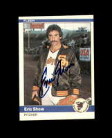 Eric Show Hand Signed 1984 Fleer San Diego Padres Autograph