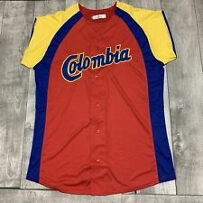 RARE Colombia National Team World Cup Baseball Classic Baseball White Jersey XL
