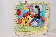 New In Package Winnie The Pooh Disney 8- Dessert Plates Pooh And Pals
