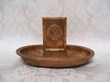 Antique 1913 Gorham Co. New York Biltmore Hotel Bronze Match Holder Ashtray