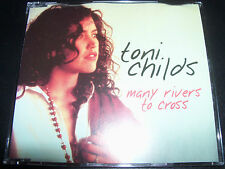 Toni Childs Many Rivers To Cross Australian Picture Disc CD Single