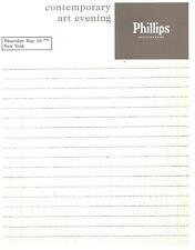 Phillips Contemporary Art Auction Catalog 2000