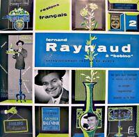 FERNAND RAYNAUD à bobino LIVE LP 25cm PHILIPS les oranges/restons français VG++