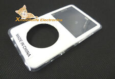 White Front Faceplate Fascia Housing Case Cover for iPod 5th Gen Video 30GB 80GB