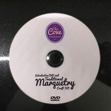 Guide To Traditional Marquetry DVD:By The Cove Workshop