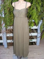NEW Crossroads Knot Bodice MAXI DRESS Size Large -16/18. $39.95 Woodland Green