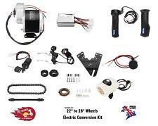 """Bicycle Conversion Kit Electric 24V 350W DC Brush Motor DIY Bike kit 22"""" 28"""" UK"""