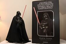 """Star Wars Darth Vader SIDESHOW Premium Format 23""""1/4 Scale Statue w/robot mouse"""