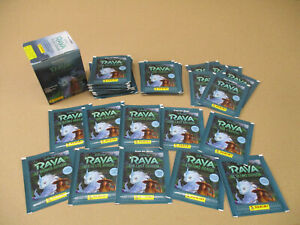 PANINI RAYA AND THE LAST DRAGON ALBUM STICKER & CARDS PACKETS RAYA & LAST DRAGON