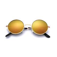 Fashion Men Women Unisex Round Sunglasses Circle Hippie Steampunk Retro Glasses