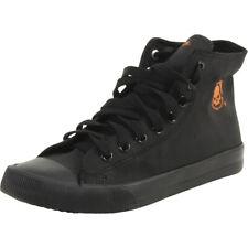 Harley-Davidson Baxter Sneakers Black/Orange Men's Skull High Top Shoes D93343