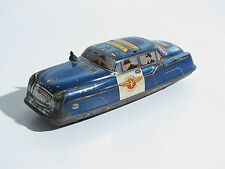 AUTO IN LATTA OLD TIN TOY POLICE CAR DIBRO MADE IN ENGLAND