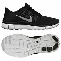 Nike Wmns Free 5.0+ 580591-002 Black/Silver/Dark Grey/White