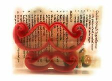 Moustache Cookie Cutter set of 2, Biscuit, Pastry, Fondant Cutter
