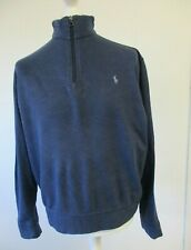 Ralph Lauren Polo Shirt, Size Large, 66 cm Wide, Charcoal, Long Sleeve