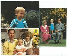 "ROYALTY - PRINCE WILLIAM Three 6"" x 4"" Postcards"