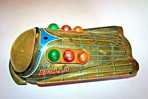 Vintage Tin game Starship APOLLO USA-NASA ِTin game