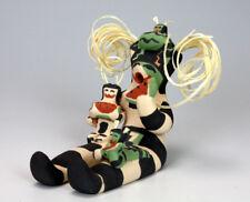 Jemez Pueblo American Indian Pottery Koshari Storyteller #2- Leatrice Loretto