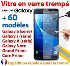 Vitre Film Protection Verre Trempé Samsung Galaxy S9/S8/A3/A5/A6+ J3/J5/J6 Plus