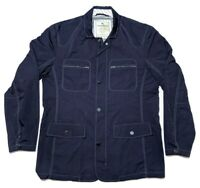 Tommy Bahama Nylon Rain Jacket Navy Blue Large L