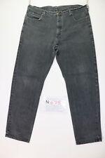 Lee Boyfriend (Cod. N675) tg.52 W38 L34 vaqueros usados Vintage Streetwear negro