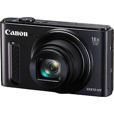 Canon PowerShot Black Digital Cameras
