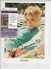 SAMAIRE ARMSTONG SIGNED AUTOGRAPH AUTO 8X10 JSA CERTIFIED AUTHENTIC