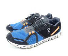 ON Sneaker Running Cloud Herren Turnschuhe Blau Schwarz Orange Grau Gr. EUR 46 U