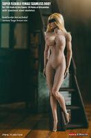 US 1/6 TBLeague S21B Super Flexible Big Bust Suntan Skin Female Body Figure Toy