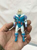 "Vintage Mr Freeze 4"" Figure With Helment DC 1989 Figure and Helmet"