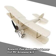 Sopwith Pup Balsa Wood 378mm Wingspan Biplane Warbird Aircraft Model Kit Z8M3