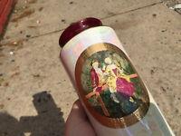 Chokin Flower Vase 24KT Gold MK18/R