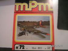 *** mPm Maquette n°72 Le Char AMX-30 Boeing B-17 G Le Jean-Bart L'Aero C-3 A