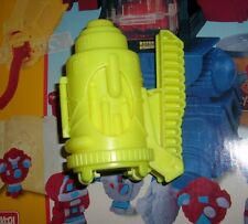 VINTAGE PLAY-DOH DOH BOT ROBOT YELLOW SHAPE SHOOTER EXTRUDER ARM MOLD PART PIECE
