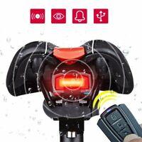 4 in 1 bici sicurezza blocco allarme senza fili antifurto telecomando nera ! √