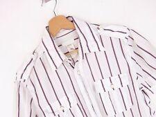 j2113 Diesel Camisa Top Original Premium Vintage Descolorido RAYAS TALLA XL