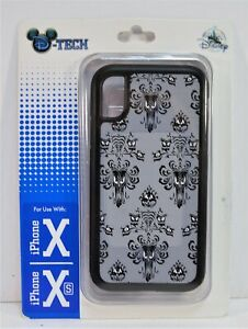 Disney Exclusive Haunted Mansion Wall Paper Apple Iphone 10 X/XS Case NEW RARE