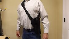 "RIGHT Hand Bandoleer Holster RUGER Mark I II III 22/45 5.5"" barrel w/ Scope USA"