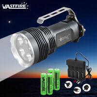 Super Hell 50000LM 5x XM-L T6 LED Tragbar Taschenlampe Torch Handlampe 4*18650