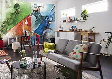 Riesiges Marvel Tapete 368x254cm Avengers Mosaik für Jungen Schlafzimmer