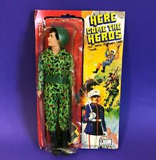 Vintage GI Joe / Action Man Knock Off 12 inch figure MOC 70s ARMY Outfit