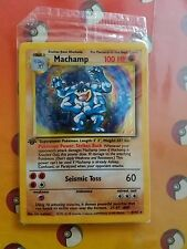 Machamp 8/102 HOLO FOIL First Edition Factory Sealed