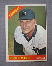 Roger Maris 1966 Topps New York Yankees Card #365