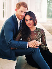 "PRINCE HARRY AND MEGHAN MARKLE ENGAGEMENT PIC FRIDGE MAGNET 5"" X 3.5"""