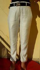Ann Demeulemeester Ivory Viscose Pants SIZE 6