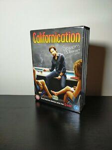 Californication - Season 1-3 Box Set DVD David Duchovny - VGC USED ONCE Showtime