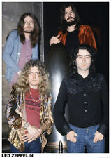 Led Zeppelin- London 1972 Poster Print 23.5x35 Rock & Pop Music